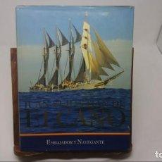 Libros antiguos: JUAN SEBASTIAN DE ELCANO. EMBAJADOR Y NAVEGANTE. Lote 147926586