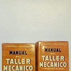 Libros antiguos: TALLER MECANICO-CALVIN Y STANLEY1956. Lote 148008146