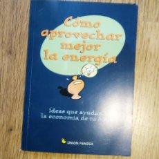 Libros antiguos: COMO APROVECHAR MEJOR LA ENERGIA. . Lote 148035198