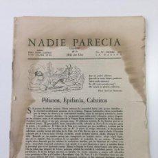 Libros antiguos: NADIE PARECÍA - JOSÉ LEZAMA LIMA - LA HABANA 1942 - N. IV - CUADERNO DE LO BELLO CON DIOS. Lote 148075726