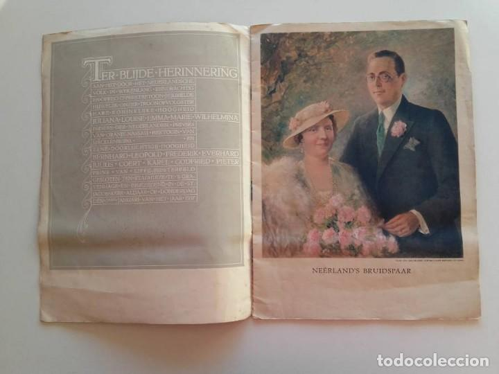 Libros antiguos: 1937, HET PRINSELIJK HUWELIJKSFEEST - Foto 2 - 148152554