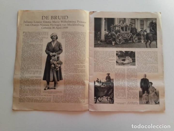 Libros antiguos: 1937, HET PRINSELIJK HUWELIJKSFEEST - Foto 3 - 148152554
