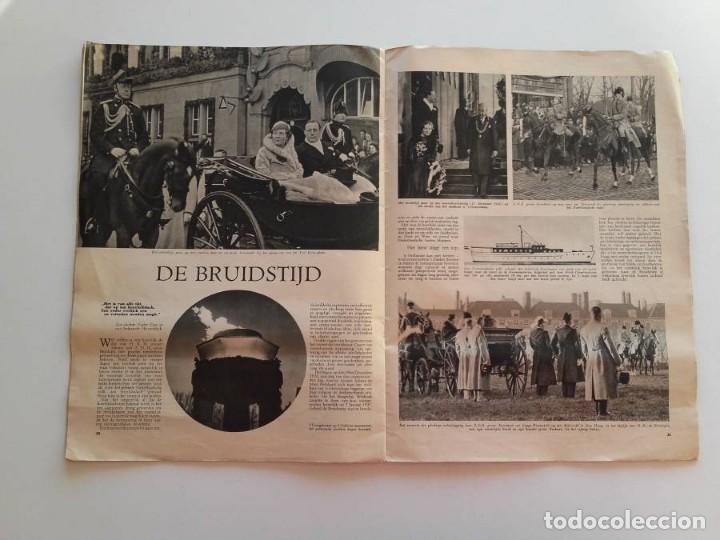 Libros antiguos: 1937, HET PRINSELIJK HUWELIJKSFEEST - Foto 7 - 148152554