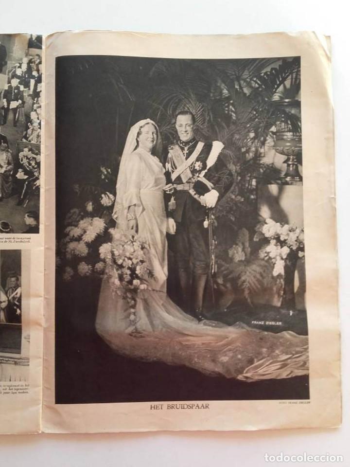 Libros antiguos: 1937, HET PRINSELIJK HUWELIJKSFEEST - Foto 9 - 148152554