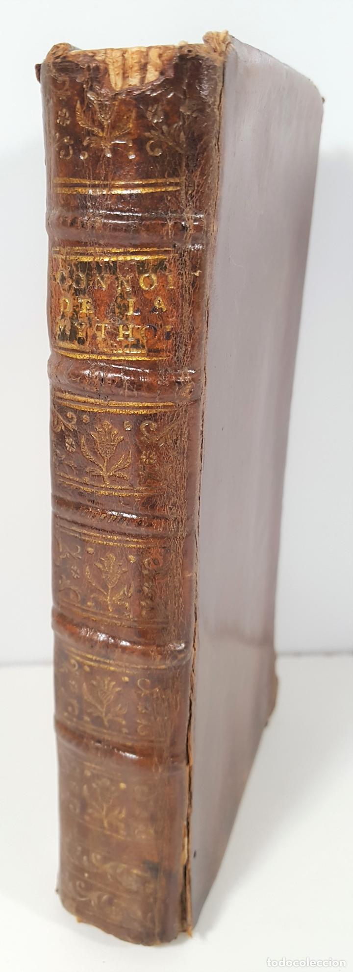 CONNOISSANCE DE LA MYTHOLOGIE PAR DEMANDES ET PAR RÉPONSES. LES FRERES PERISSE LYON. 1782. (Libros Antiguos, Raros y Curiosos - Pensamiento - Otros)