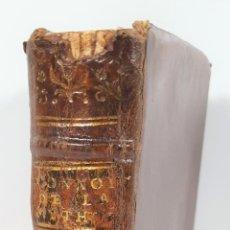 Libros antiguos: CONNOISSANCE DE LA MYTHOLOGIE PAR DEMANDES ET PAR RÉPONSES. LES FRERES PERISSE LYON. 1782.. Lote 148156070