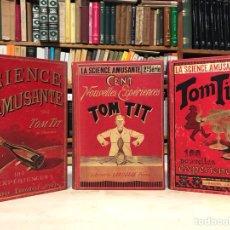 Libros antiguos: LA SCIENCE AMUSANTE COMPLETO. TOM TIT. DIVERTIDOS TRUCOS, MAGIA Y CIENCIA ILUSIONISMO GOOD, ARTHUR. Lote 148085922