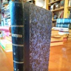 Libros antiguos: FR. GERUNDIO. 12. M.P.C. Lote 148197974