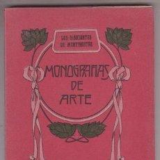 Libros antiguos: EMANUEL, FRANCISCO L: LOS DIBUJANTES DE MONTMARTRE. MONOGRAFÍAS DE ARTE VOL.III. 1909. Lote 148230758