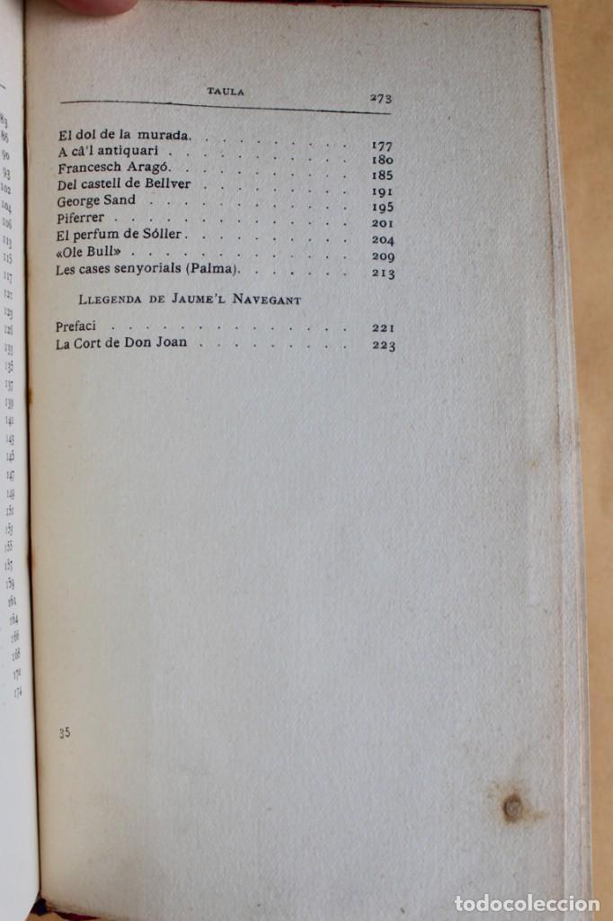 Libros antiguos: OBRES CATALANES DE MIQUEL S.OLIVER - ILUSTRACIÓ CATALANA - 6 TOMOS. - Foto 7 - 148282074