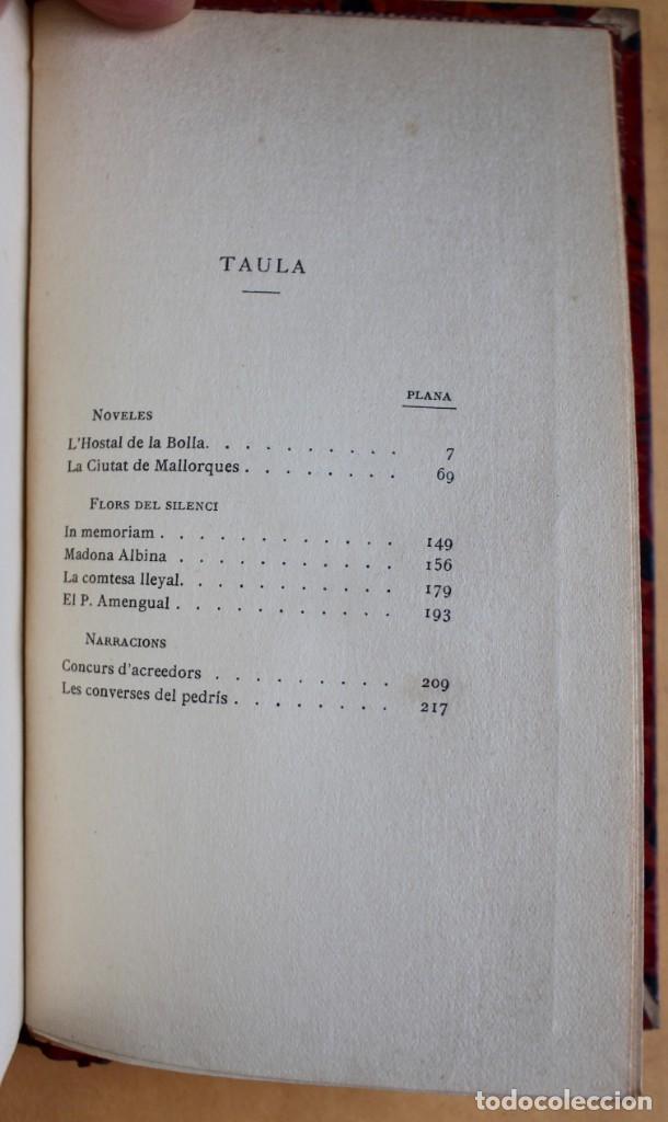 Libros antiguos: OBRES CATALANES DE MIQUEL S.OLIVER - ILUSTRACIÓ CATALANA - 6 TOMOS. - Foto 9 - 148282074