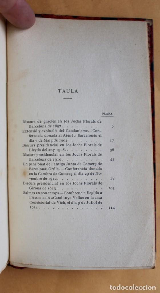 Libros antiguos: OBRES CATALANES DE MIQUEL S.OLIVER - ILUSTRACIÓ CATALANA - 6 TOMOS. - Foto 11 - 148282074