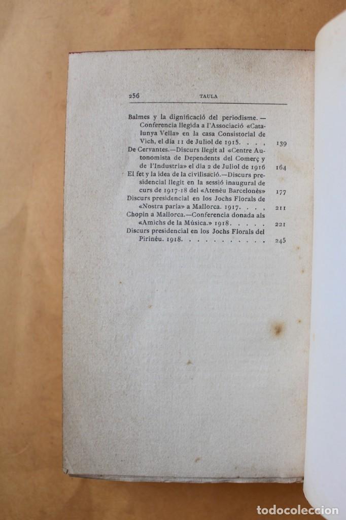 Libros antiguos: OBRES CATALANES DE MIQUEL S.OLIVER - ILUSTRACIÓ CATALANA - 6 TOMOS. - Foto 12 - 148282074