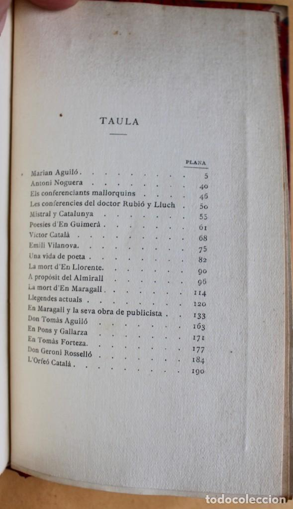 Libros antiguos: OBRES CATALANES DE MIQUEL S.OLIVER - ILUSTRACIÓ CATALANA - 6 TOMOS. - Foto 14 - 148282074