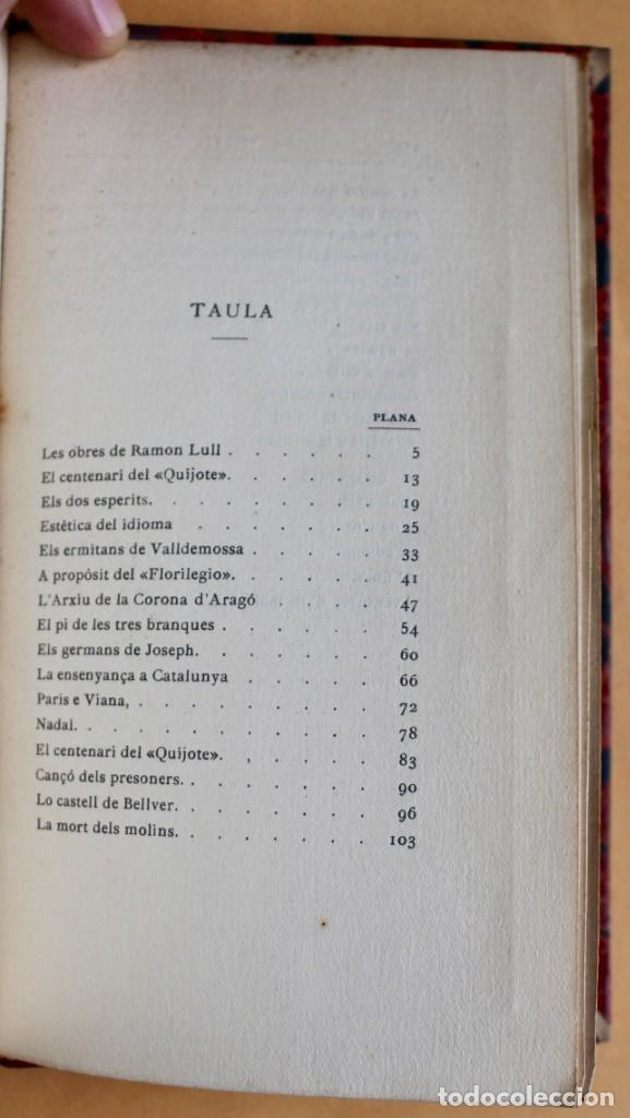 Libros antiguos: OBRES CATALANES DE MIQUEL S.OLIVER - ILUSTRACIÓ CATALANA - 6 TOMOS. - Foto 17 - 148282074