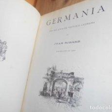 Libros antiguos: 1882 GERMANIA DOS MIL AÑOS DE HISTORIA ALEMANA / JUAN SCHERR. Lote 148291598