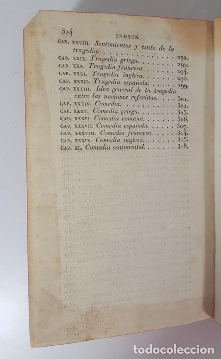 Libros antiguos: COMPENDIO DE LAS LECCIONES SOBRE LA RETÓRICA Y BELLAS LETRAS. HUGO BLAIR. TOLOSSA. 1819. - Foto 7 - 148324234