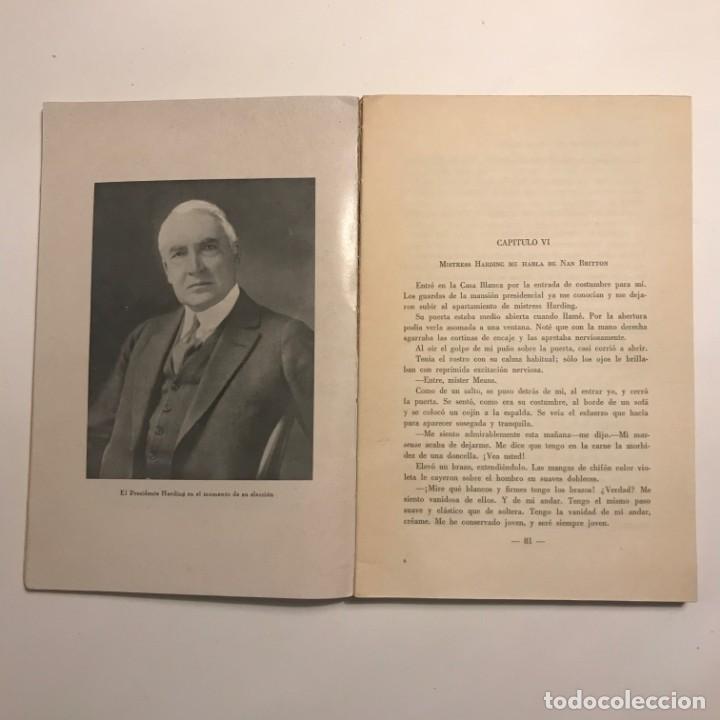 Libros antiguos: La extraña muerte del presidente Harding. Gaston B. Means.1931.Ed. Mentora. Primera edición - Foto 3 - 148366206