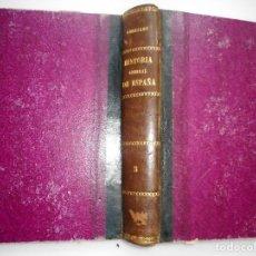 Libros antiguos: VICTOR GEBHARDT HISTORIA GENERAL DE ESPAÑA Y DE SUS INDIAS. TOMO 3 Y92149. Lote 148438178