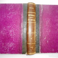 Libros antiguos: VICTOR GEBHARDT HISTORIA GENERAL DE ESPAÑA Y DE SUS INDIAS. TOMO 6 Y92151. Lote 148438358