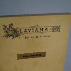 Libros antiguos: LAVIANA REVISTA DE ASTURIAS AÑOS (1896-1897). Lote 148440042