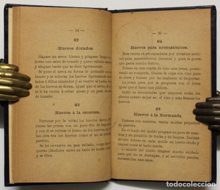 Libros antiguos: 120 MANERAS DE GUISAR HUEVOS. Célebres recetas culinarias. - MARTELL, Duquesa. - Foto 2 - 148450706