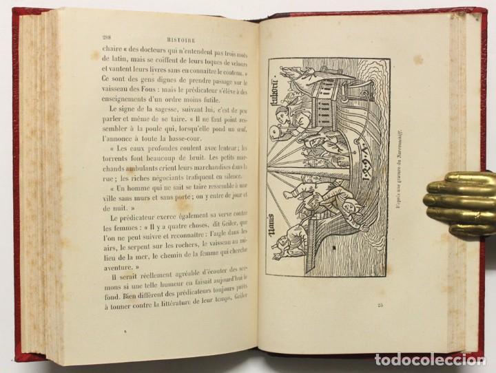 Libros antiguos: HISTOIRE DE LA CARICATURE AU MOYEN AGE ET SOUS LA RENAISSANCE. - CHAMPFLEURY. - Foto 4 - 148462682