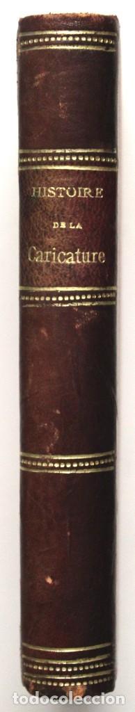 Libros antiguos: HISTOIRE DE LA CARICATURE AU MOYEN AGE ET SOUS LA RENAISSANCE. - CHAMPFLEURY. - Foto 6 - 148462682