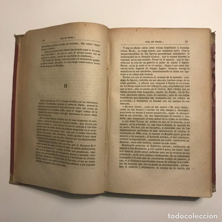 Libros antiguos: Varias novelas. P.L.Coloma. Juan Miseria. Por un piojo. Del natural. 1902 - Foto 4 - 148464122