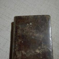 Libros antiguos: LIBRO EN LATÍN. ANDREA DE GUEVARA. MADRID 1826.DEFINITIONES ET EPITOME DOCTRINAE... FILOSOFÍA. ÉTICA. Lote 148507664