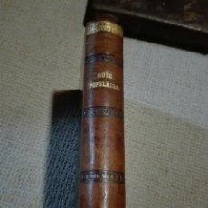 Libros antiguos: LIBRO EN FRANCÉS. MUSE POPULAIRE. PIERRE DUPONT - CHANT ET POESIES. PARIS 1855. Lote 148507872
