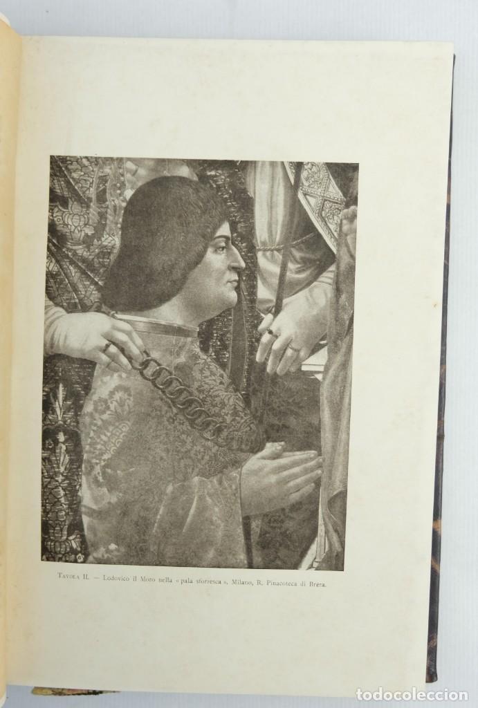 Libros antiguos: La corte di Lodovico il moro, Francesco Malaguzzi Valeri-Ed. Ultico Hoepli, Milan 1917 - Foto 6 - 148543682