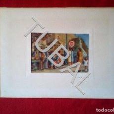 Libros antiguos: TUBAL SOLÀ ROMÀ ORIGINAL FIRMADA ART CATALÀ OLEO SOBRE LIENZO B02. Lote 148567110