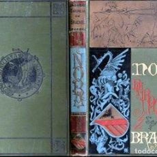 Libros antiguos: BARONESA DE BRACKEL : NORA (ARTE Y LETRAS CORTEZO, 1883). Lote 148569556