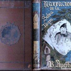 Libros antiguos: AUELBACH : NARRACIONES POPULARES DE LA SELVA NEGRA (ARTE Y LETRAS CORTEZO, 1883). Lote 148570266