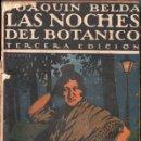 Libros antiguos: JOAQUIN BELDA : LAS NOICHES DEL BOTÁNICO (HISPANIA, C. 1920). Lote 148570522