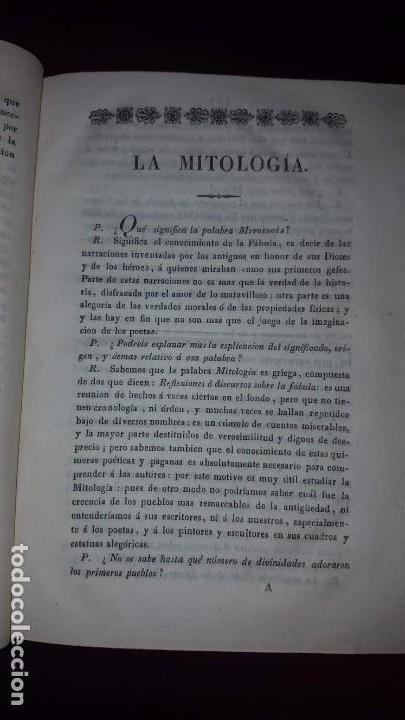 Libros antiguos: Nuevo Compendio de la Mitología - 1826 - Foto 8 - 148578558
