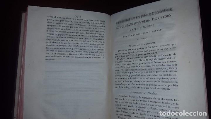 Libros antiguos: Nuevo Compendio de la Mitología - 1826 - Foto 12 - 148578558