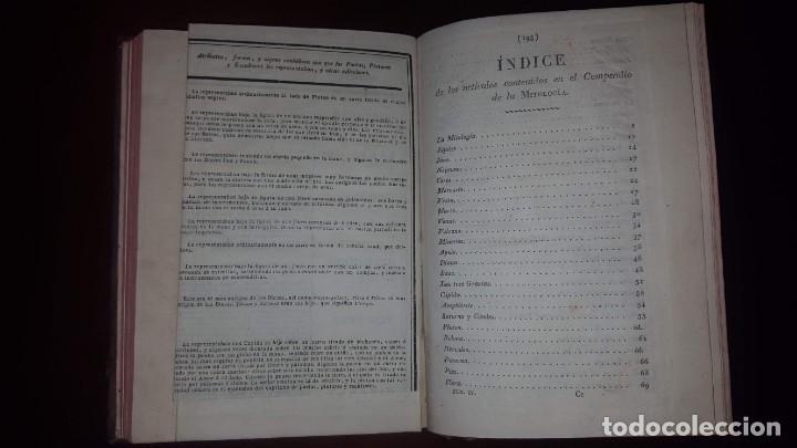 Libros antiguos: Nuevo Compendio de la Mitología - 1826 - Foto 19 - 148578558