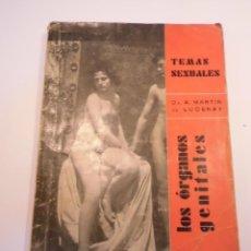 Libros antiguos: TEMAS SEXUALES NUM 1 - LOS ORGANOS GENITALES - MARTIN DE LUCENAY - 1932. Lote 148579218
