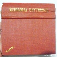 Libros antiguos: MITOLOGÍA UNIVERSAL JUAN B BERGUA C 1930 ED IBÉRICASTODAS LAS MITOLOGIAS Y SUS MARAVILLOSAS LEYENDAS. Lote 148591162