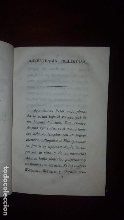 Libros antiguos: La Virtud o Retrato Perfecto de un Hombre Honrado- Zaragoza Godinez - Madrid - 1826 (muy raro) - Foto 7 - 148597294