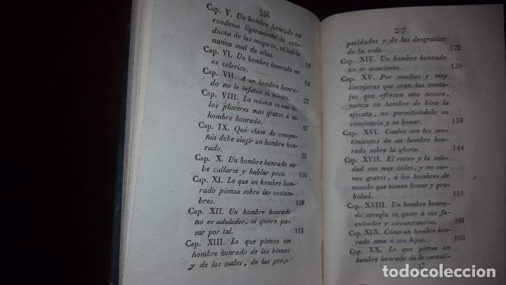Libros antiguos: La Virtud o Retrato Perfecto de un Hombre Honrado- Zaragoza Godinez - Madrid - 1826 (muy raro) - Foto 12 - 148597294