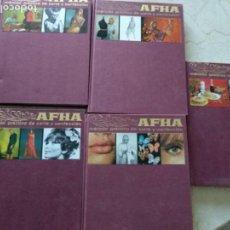 Libros antiguos: COLECCION COMPLETA CORTE Y CONFECCION AFHA EDICION 1977. Lote 148623318