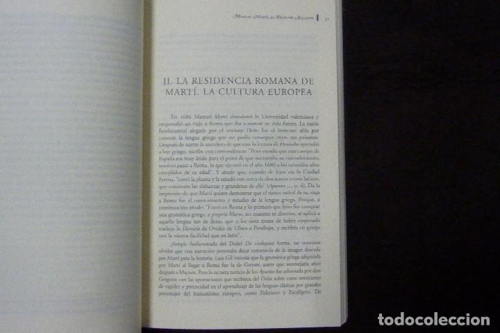 Libros antiguos: Libro - Manuel Martí, el deán de Alicante / Antonio Mestre Sanchís - Foto 3 - 148671410