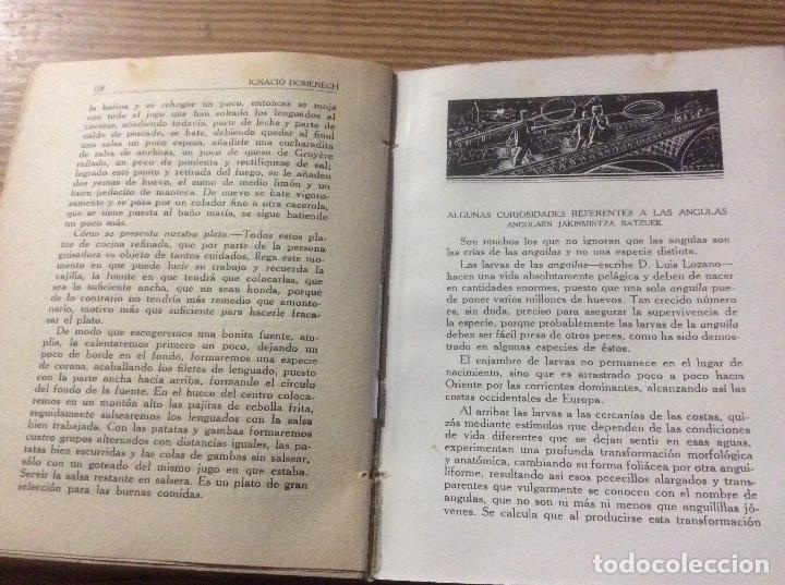 Libros antiguos: LA COCINA VASCA DOMENECH Ignacio. Ed. Publicaciones Selectas de Cocina. - Foto 7 - 148693662