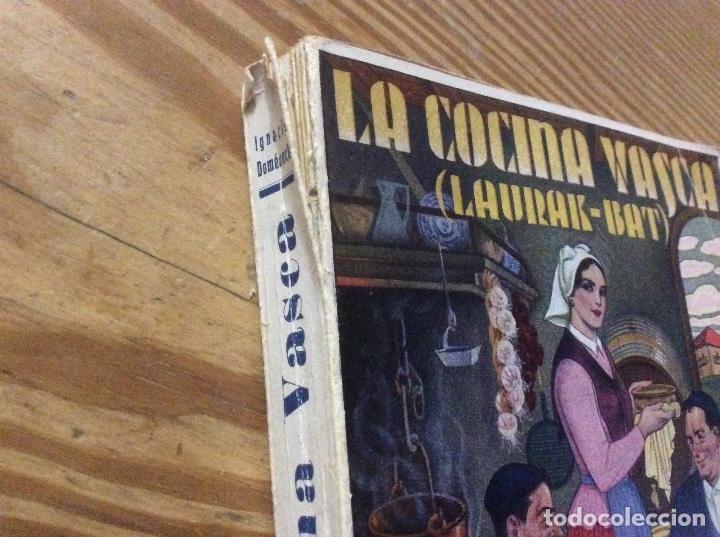 Libros antiguos: LA COCINA VASCA DOMENECH Ignacio. Ed. Publicaciones Selectas de Cocina. - Foto 8 - 148693662