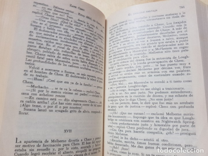 Libros antiguos: ZANE GREY - OBRAS COMPLETOS - TOMO V - NOVELAS - 1ª EDICIÓN - AÑO 1959 - Foto 6 - 148700794