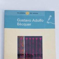 Libros antiguos: RIMAS - GUSTAVO ADOLFO BÉCQUER. Lote 148724254