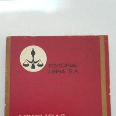 Libros antiguos: LEYENDAS Y NARRACIONES - GUSTAVO ADOLFO BÉCQUER. Lote 148729210